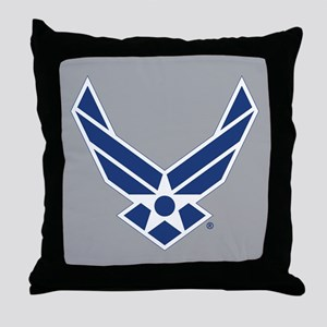 Air Force Symbol Throw Pillow